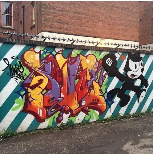 Gully Artwork Pic by BelfastGraffiti