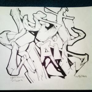 """Just wait"" by jack Keaney artwork"